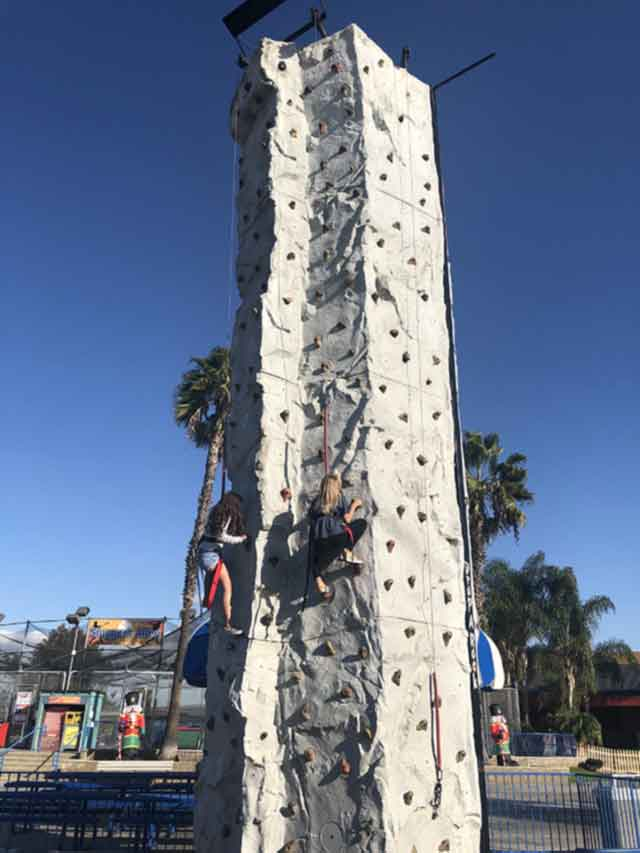 Rock Wall at Boomers Irvine