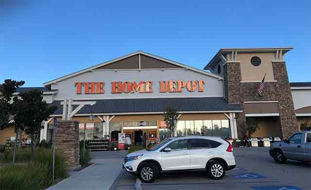 Photo of the front of The Home Depot