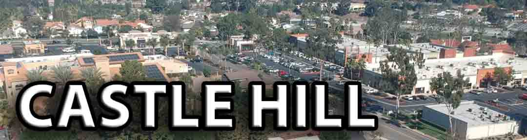 The community of Castle Hill in Laguna Hills