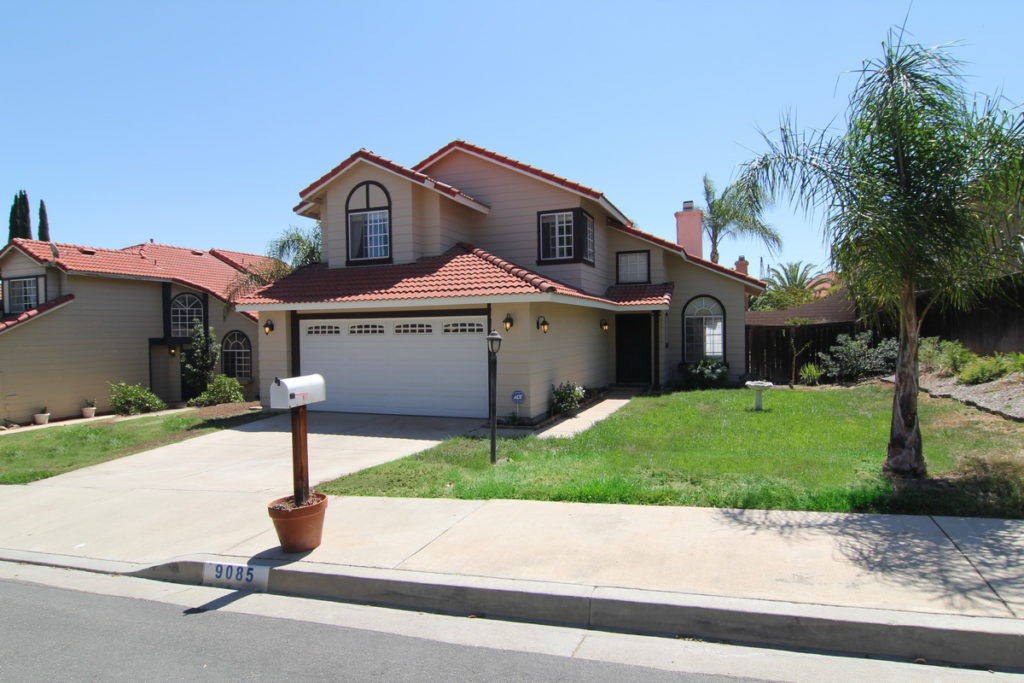 Front Of Home at 9085 Stone Canyon Rd, Corona, CA
