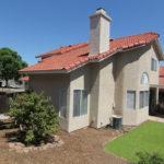 Back Yard of 9085 Stone Canyon Rd, Corona, CA