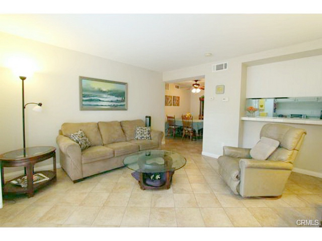 Living Room with furniture at 3000 Asscoated Rd. Unit 53