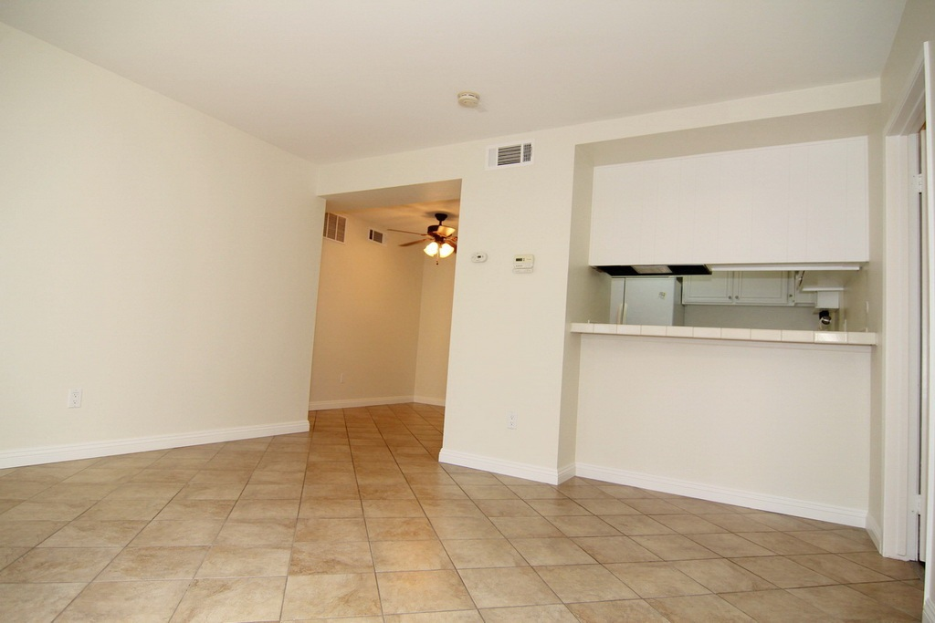 Living room with kitchen and dinning area at 3000 Asscoated Rd. Unit 53