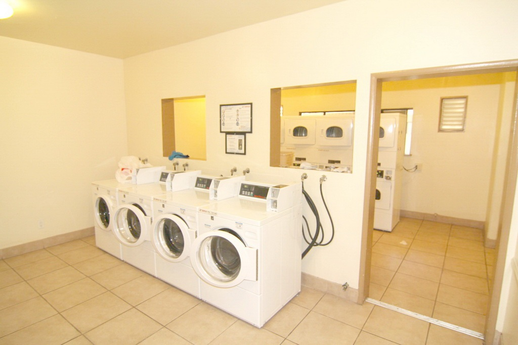 Community Laundry at 3000 Asscoated Rd. Unit 53