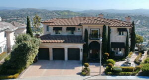 Front View Of San Clemente Ocean View Home For Lease