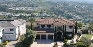 Front View Higher Up Of San Clemente Ocean View Home For Lease