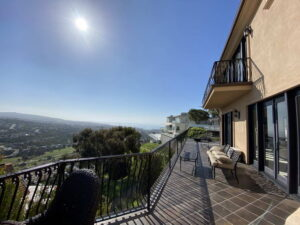 Ocean View From Patio Of San Clemente Ocean View Home For Lease
