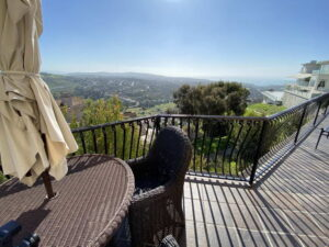 Mountain View From Patio Of San Clemente Ocean View Home For Lease