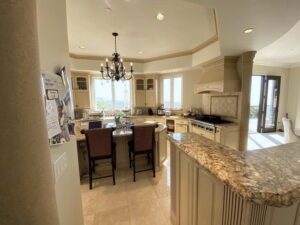 Kitchen Counter Of San Clemente Ocean View Home For Lease