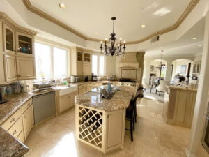 Kitchen Island Of San Clemente Ocean View Home For Lease
