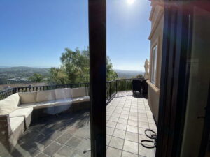View From Family Room of Ocean Of San Clemente Ocean View Home For Lease