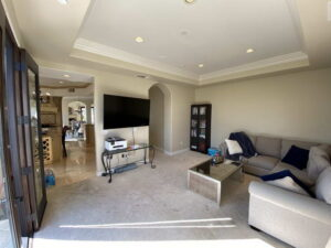 Family Room of Ocean Of San Clemente Ocean View Home For Lease