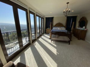 Master Bedroom of Ocean Of San Clemente Ocean View Home For Lease