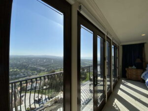 Master Bedroom French Doors of Ocean Of San Clemente Ocean View Home For Lease