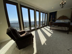 Master Bedroom View of Ocean Of San Clemente Ocean View Home For Lease