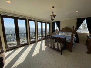 Master Bedroom Alternate View of Ocean Of San Clemente Ocean View Home For Lease