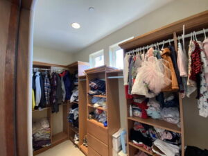 His Master Walk In Closet of Ocean Of San Clemente Ocean View Home For Lease