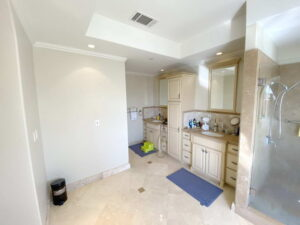 Master Bath Sinks of Ocean Of San Clemente Ocean View Home For Lease
