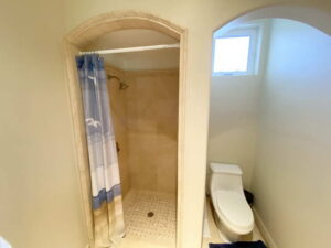 Bath Of Up Stairs Bedroom of Ocean Of San Clemente Ocean View Home For Lease