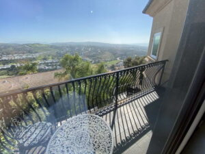View from Bedroom Balcony of Ocean Of San Clemente Ocean View Home For Lease